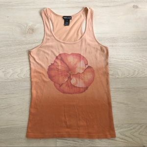 Wet Seal Racerback Tank Top Stretchy Cotton Basic